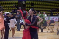 Ballroom dance competition.