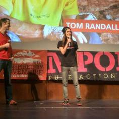 Host for the European Outdoor Film Tour. Interview with climbing legend Tom Randall.