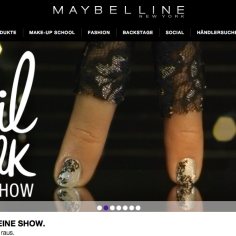 Featured on www.maybelline.com