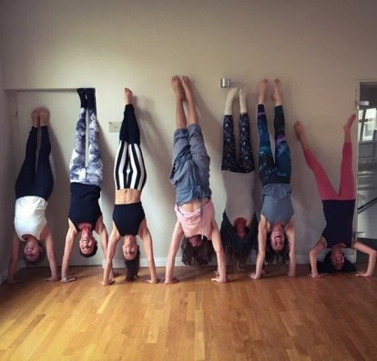Rocket Yoga workshop at Balance Yoga Frankfurt.
