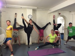 Handstand Workshop in London.